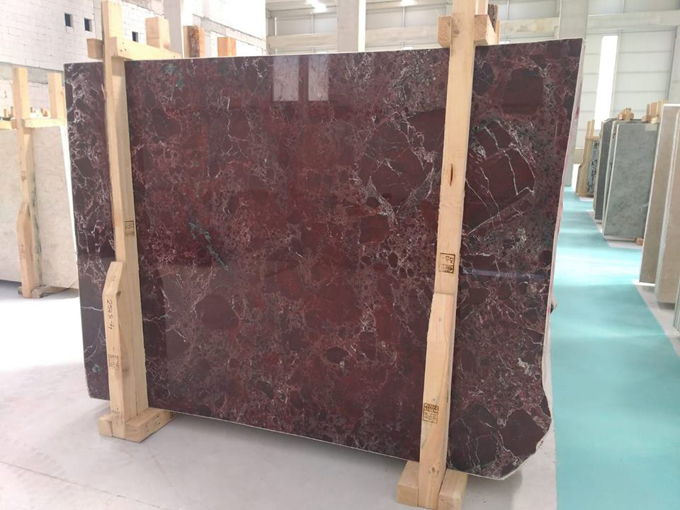 Rosso Levanto Marble Blocks and Slabs