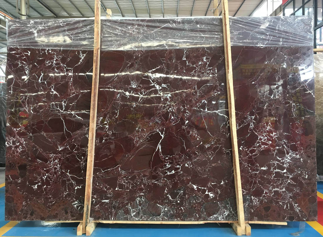 Rosso Levanto Marble Slab Turkish Polished Red Marble Slabs