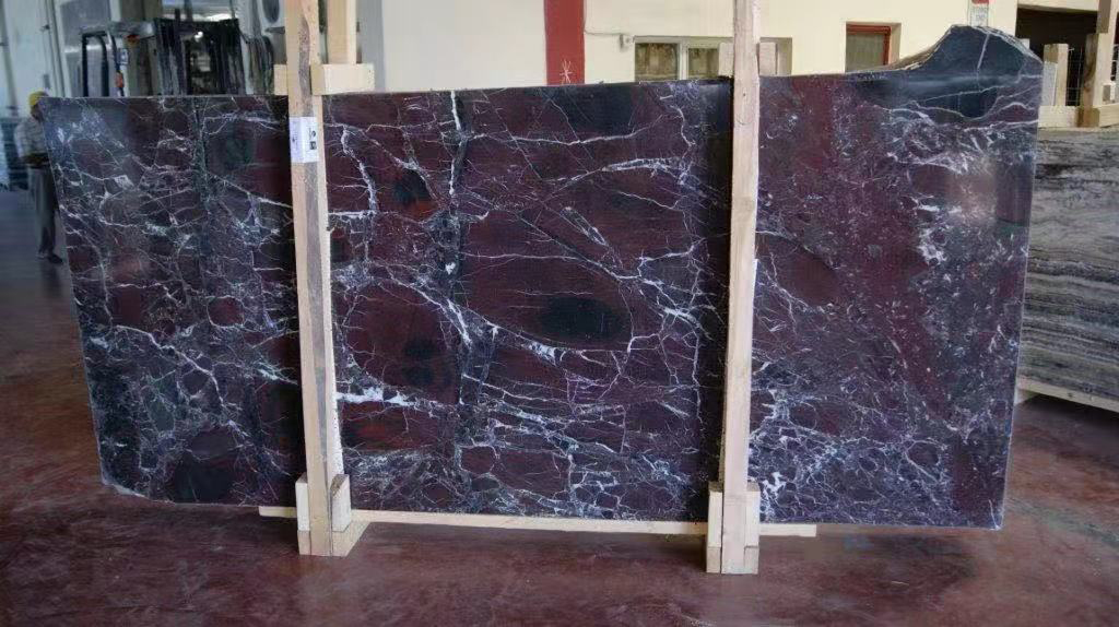 Rosso Levanto Marble Slabs Competitive Red Marble Stone Slabs