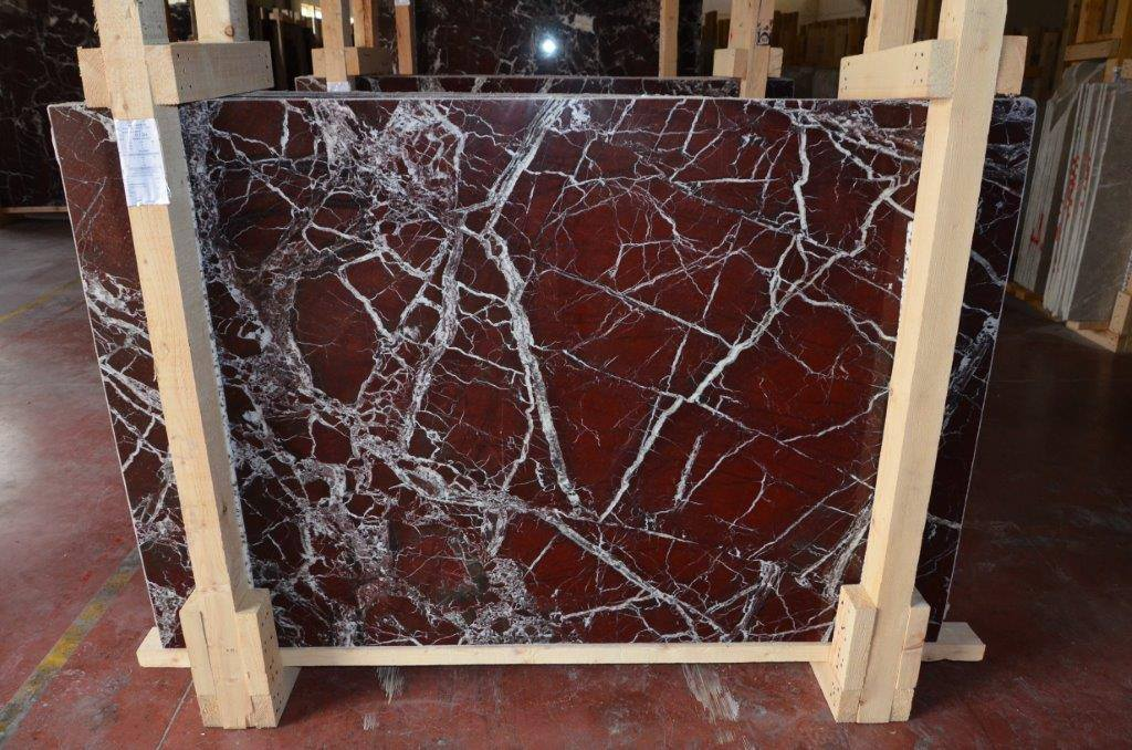 Rosso Levanto Marble Slabs Polished Red Marble Slabs