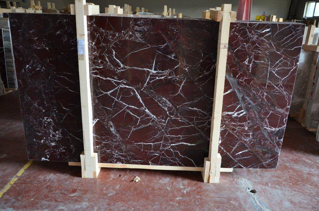 Rosso Levanto Marble Slabs Turkish Red Marble Slabs