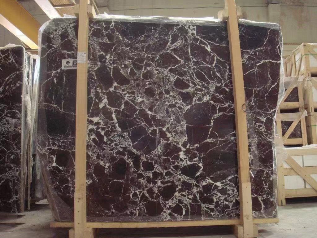 Rosso Levanto Slabs Turkish Red Marble Stone Slabs