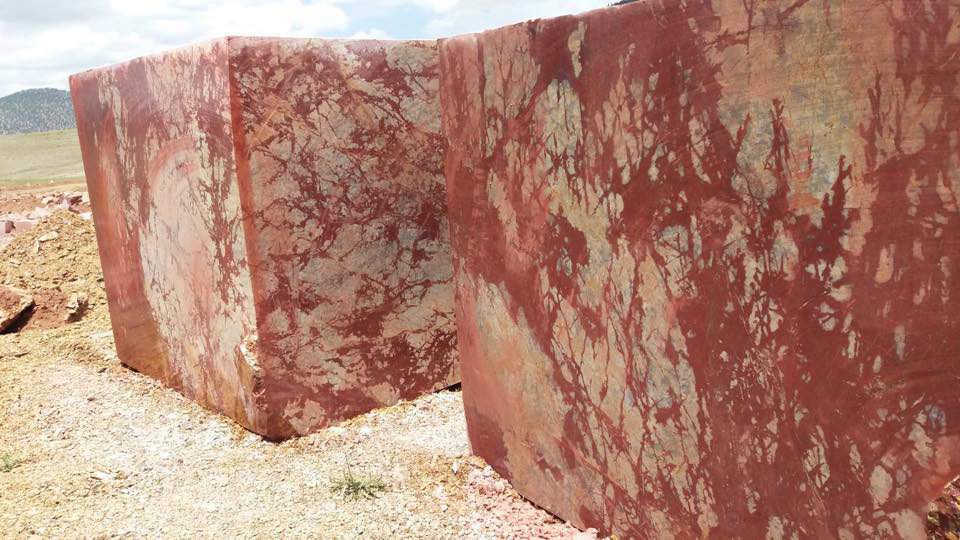 Rosso Royal Marble Red Natural Marble Blocks