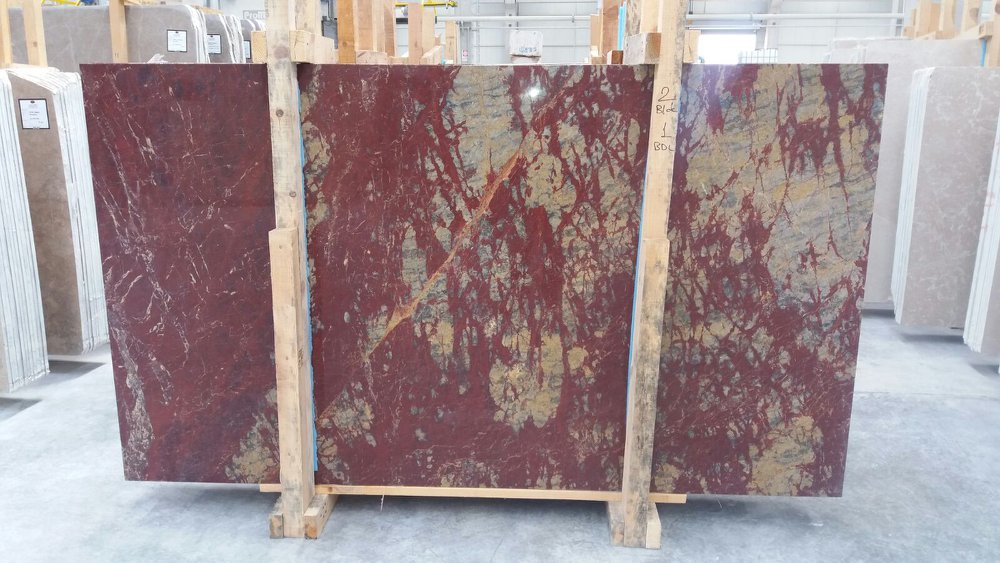 Rosso Royal Marble Slabs Red Marble Slabs with High Quality