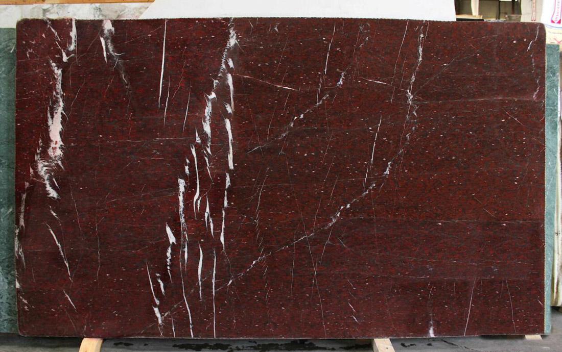 Rouge Griotte Marble Slabs France Red Polished Marble Slabs