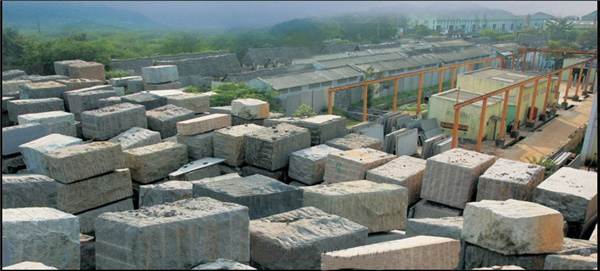 Rough Granite Blocks