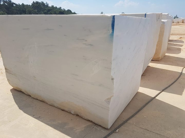 Royal White Marble Blocks