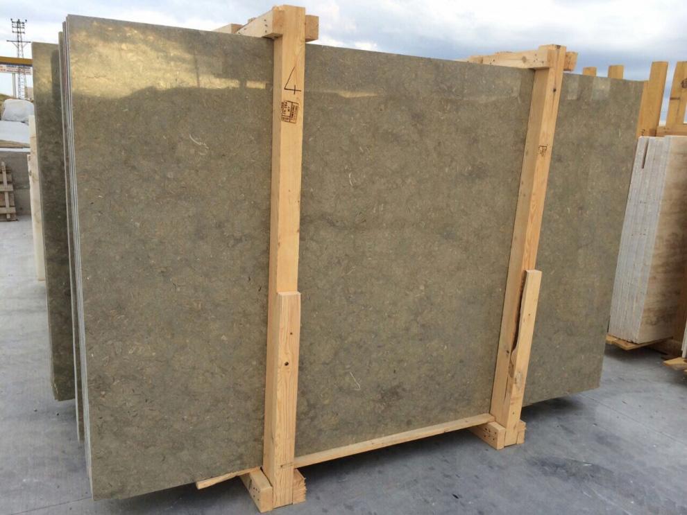Rustic Green Limestone Slabs Turkish High Quality Limestone Slabs