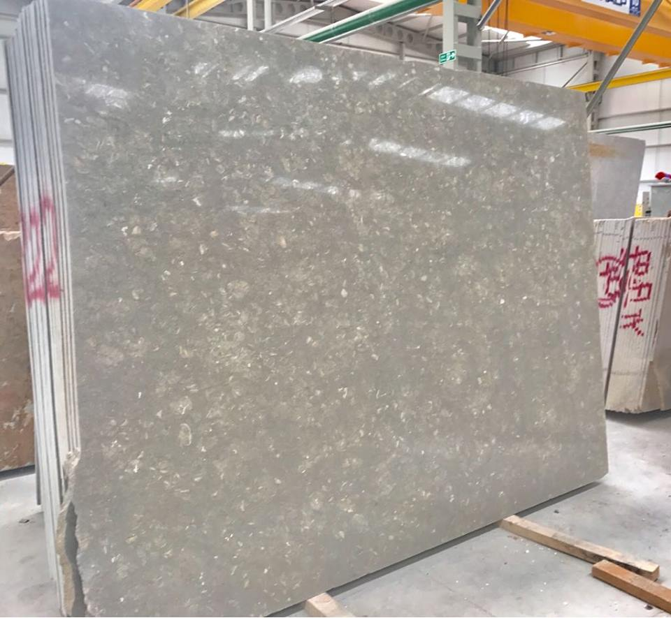 Rustic Grey Marble Polished Marble Slabs