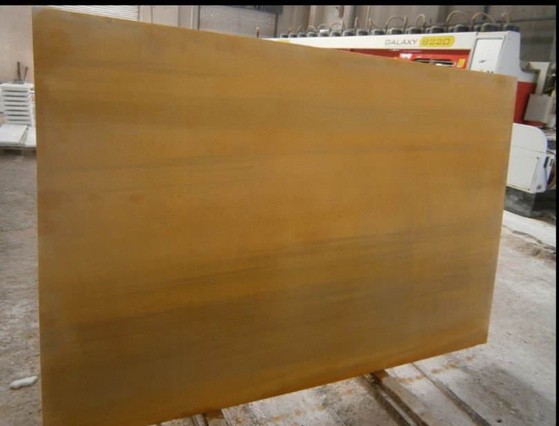 Rusty Nail Marble Yellow Marble Slabs
