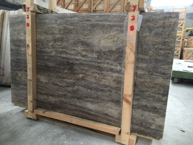SILVER TRAVERTINE VEINCUT TRAVERTINE