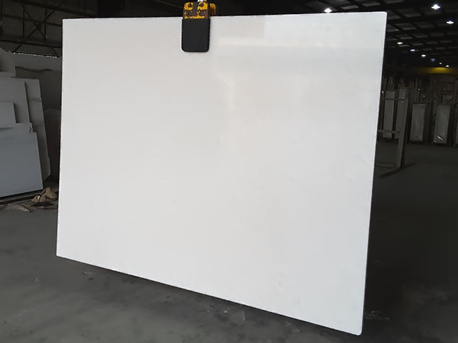 SNOW WHITE Marble Slabs