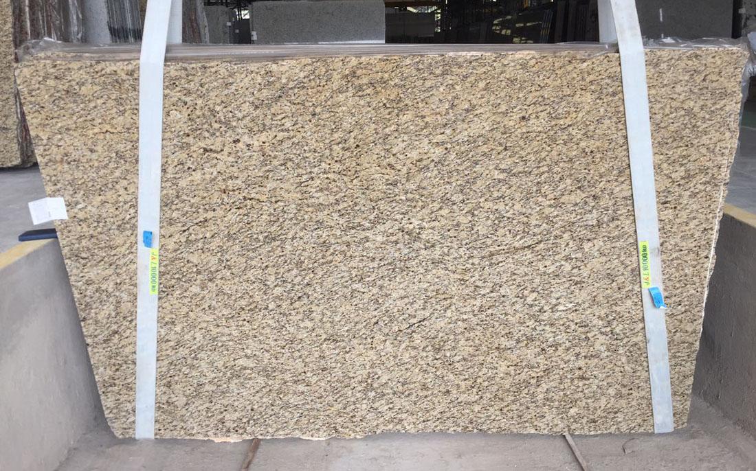 ST Cecilia Gold Granite Slabs Brazilian Yellow Granite Stone Slabs