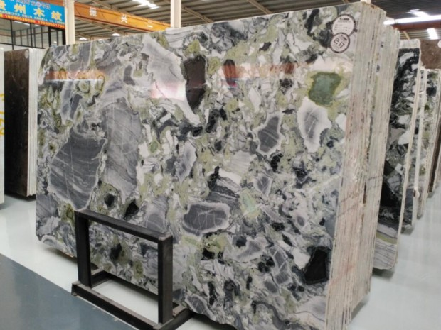 ICE JADE STONE Marble in Slabs