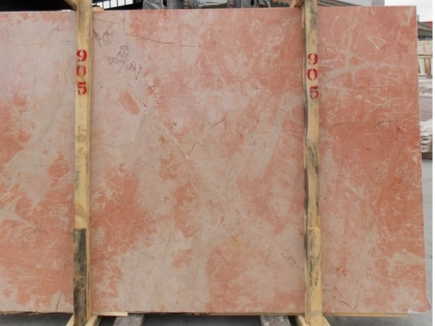 SUNSET PINK Marble in Blocks Slabs Tiles