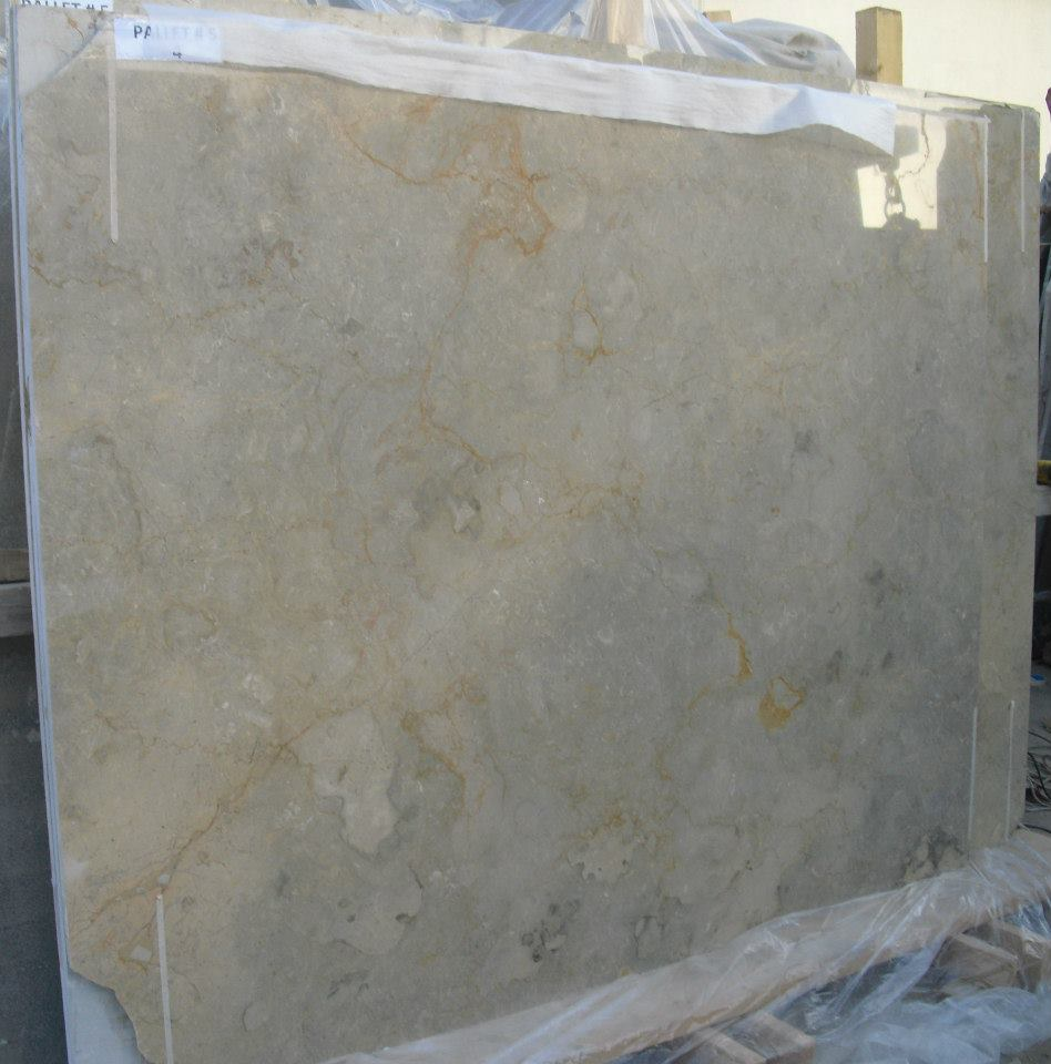 Sahara Gold Polished Slab Beige Marble Slabs