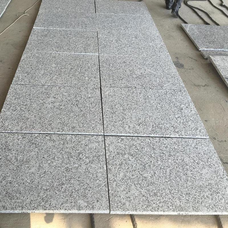 Salt Grey Granite Tiles Chinese Granite Stone Flooring Tiles