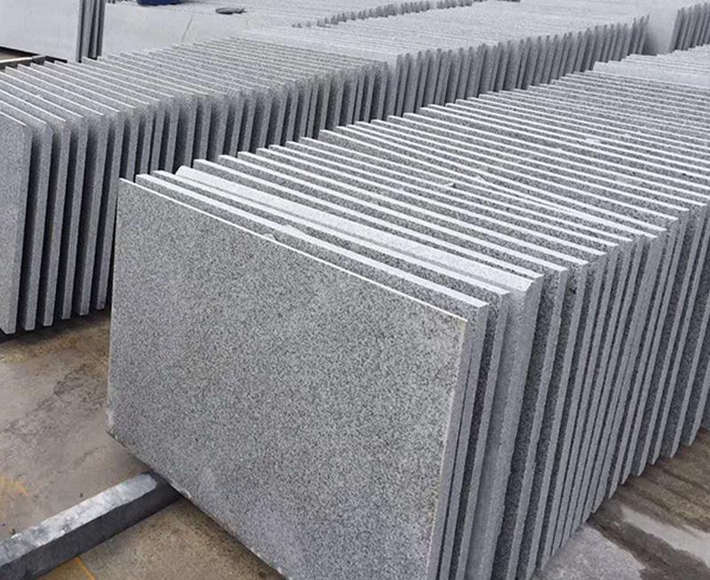 Salt Grey Granite Tiles Chinese Granite Stone Tiles