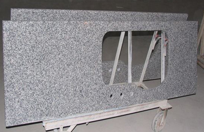Salt Grey Granite Vanity Tops for Bathroom Vanity Tops