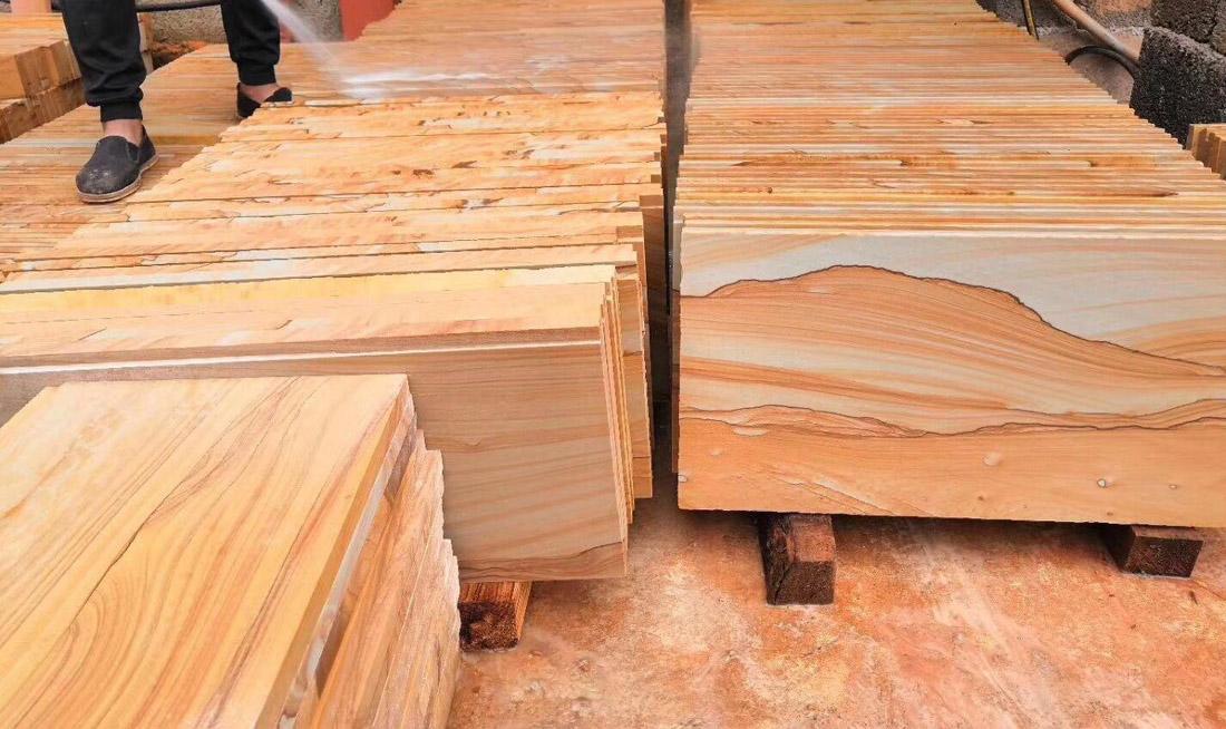 Sandstone Tiles Yellow Sandstone Flooring Tiles