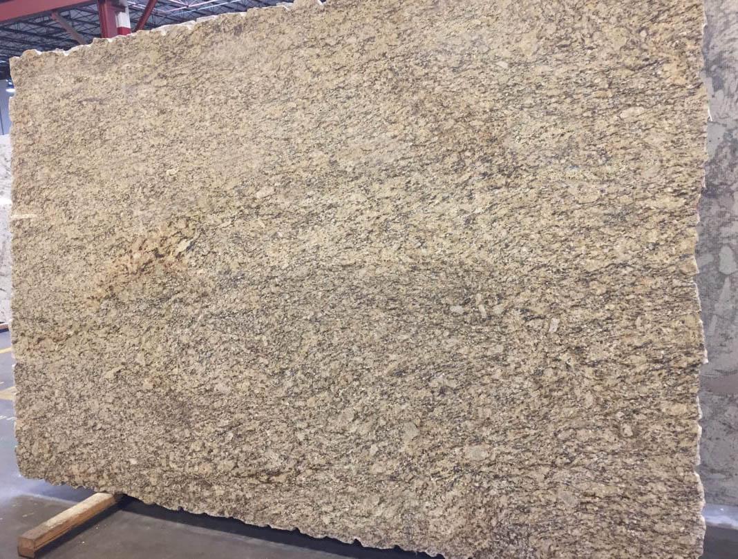 Santa Cecilia Classic Granite Slab Yellow Polished Granite Slabs