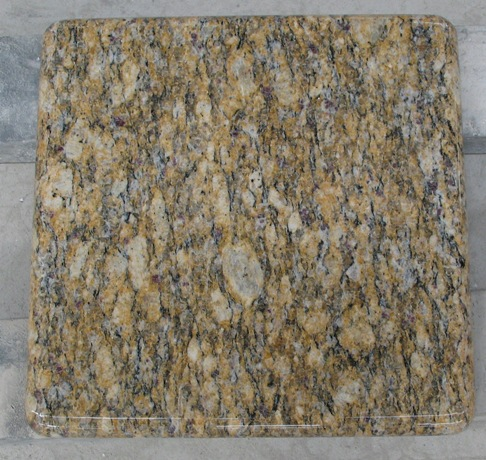 Santa Cecilia Granite Tiles Polished Yellow Granite Flooring Tiles