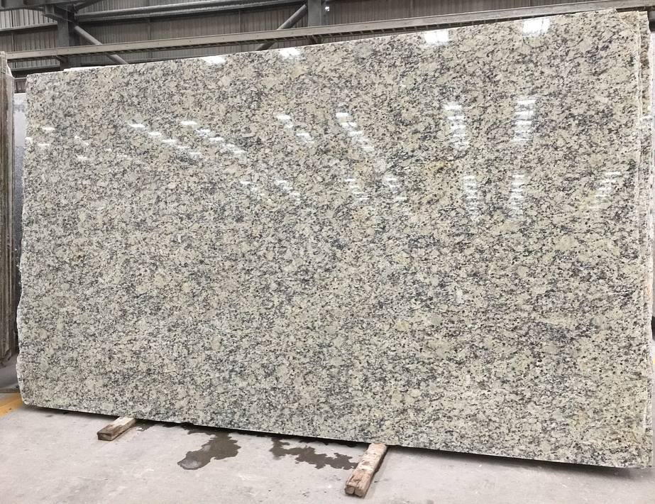 Santa Cecilia Light Polished Beige Granite Slabs