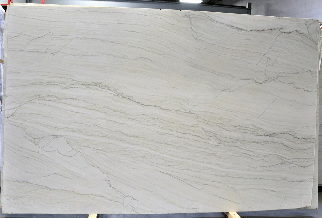 Santorini 3cm Polished White Quartzite Stone Slabs