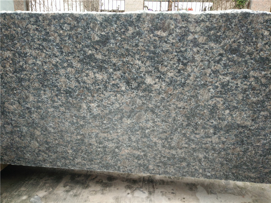 Saphire Brown Granite Countertops for Kitchen