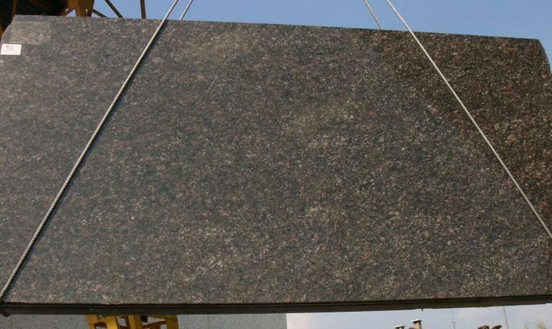 Saphire Brown Granite Slabs Polished Brown Granite Slabs