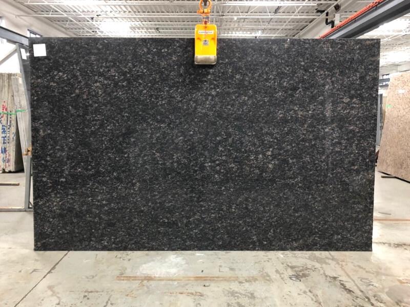 Sapphire Brown Granite Slab Brazil Brown Polished Granite Stone Slabs
