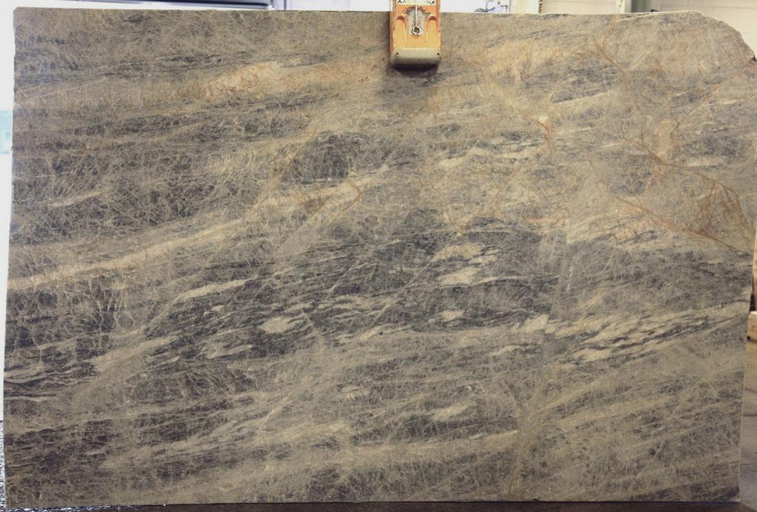 Sapphire Pearl Leather Blue Quartzite Stone Slabs