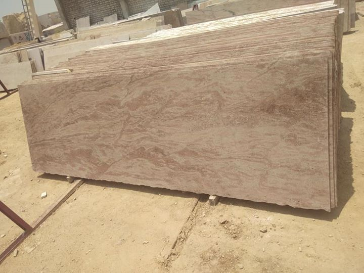Sathur Pink Polished Granite Slabs