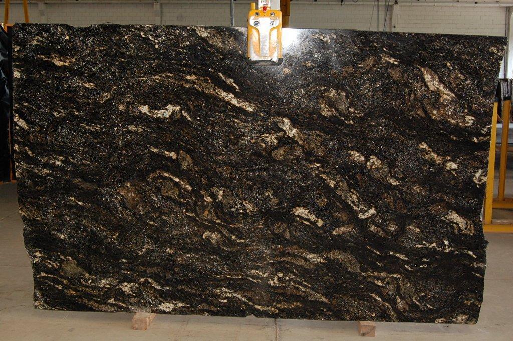 Saturnia Black Granite Quartzite Slabs