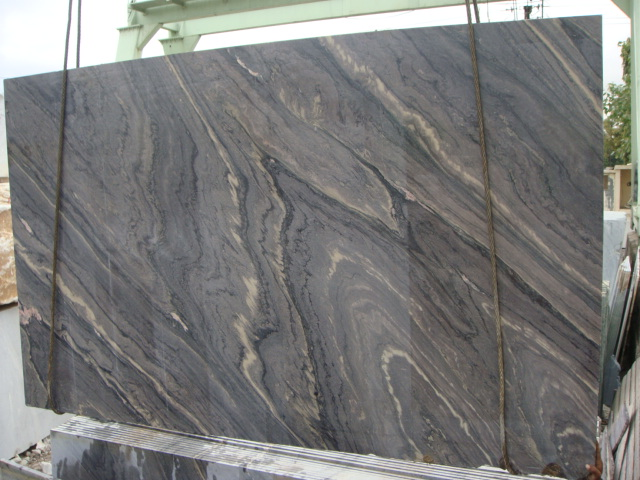 Scorpio Brown Marble Slabs from India