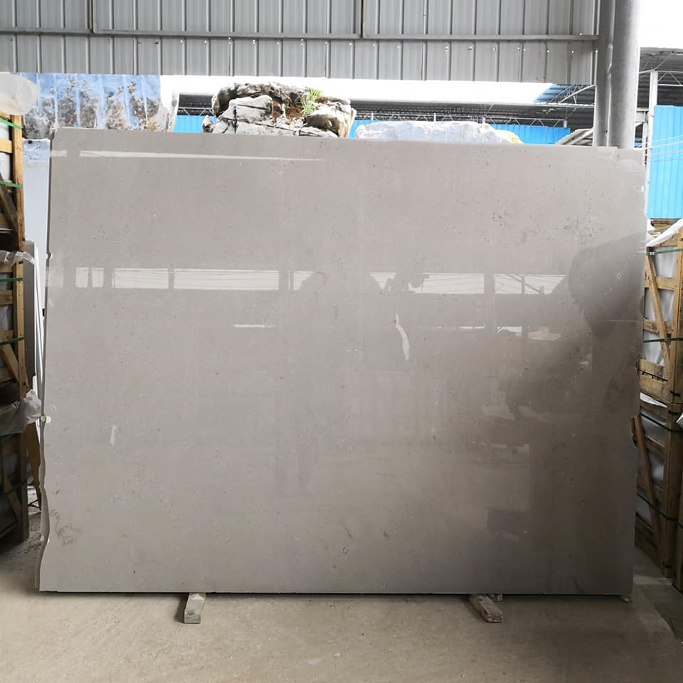 Sea Grey Marble Slabs Polished Grey Slabs