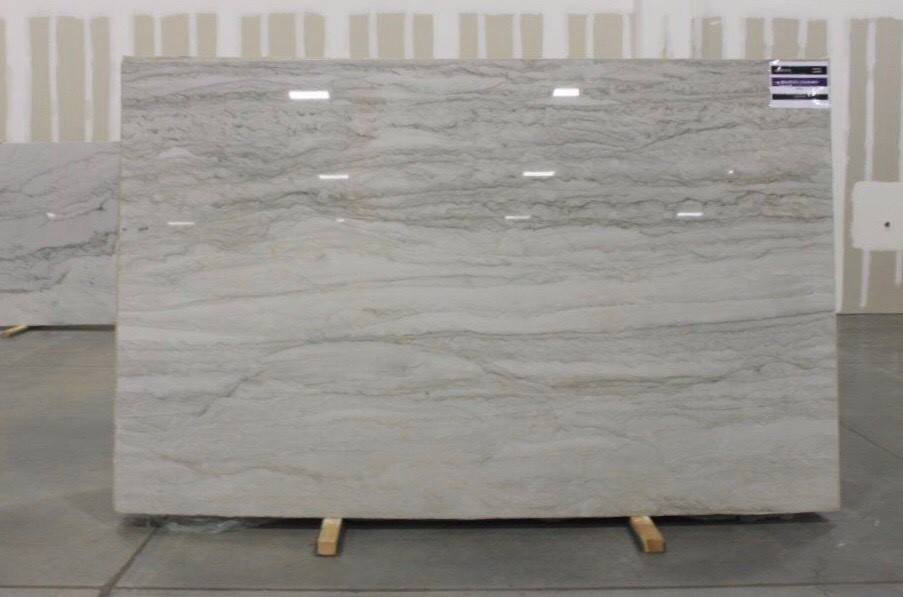 Sea Pearl Quartzite Polished White Quartzite Slabs