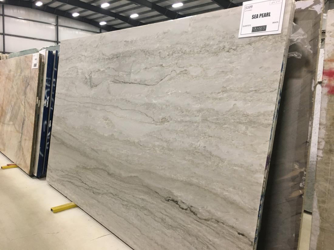 Sea Pearl Quartzite White Quartzite Slabs