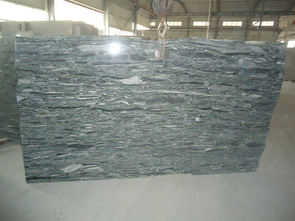Sea Wave Green Granite Slabs from China