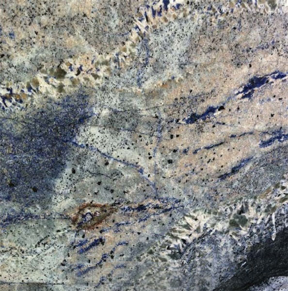 Sea Foam Blue Granite