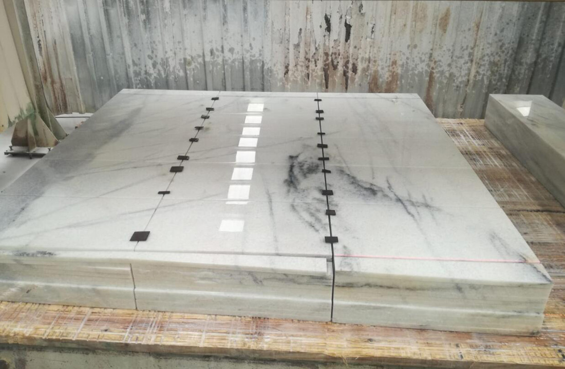 Sedef White Cut to Size Polished White Marble Flooring Tiles
