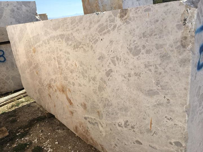 Seleukia Beige Blocks Beige Marble Blocks from Greece