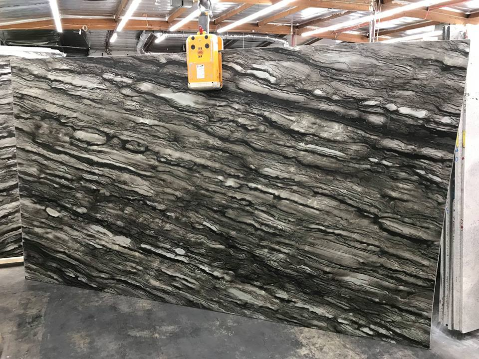 Sequoia Brown Quartzite Polishhed Slabs from Brazil