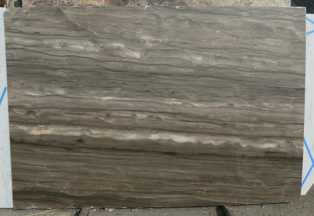 Sequoia Brown Quartzite Slab from Italy