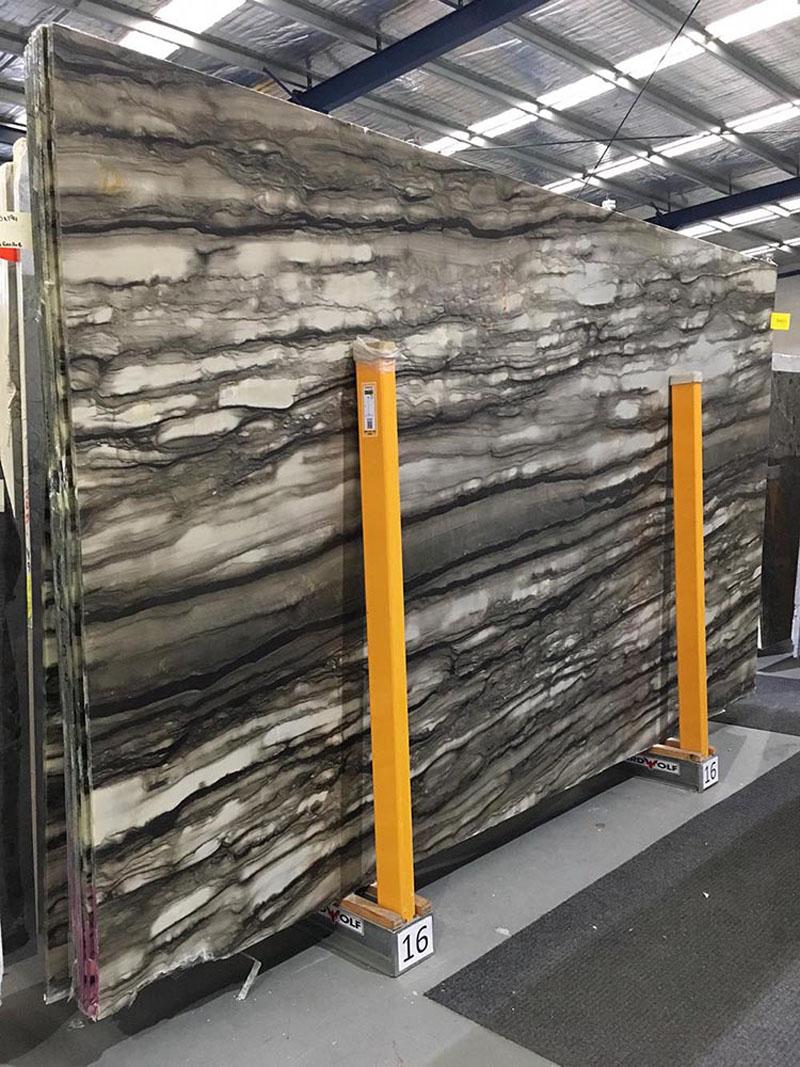 Sequoia Brown Slab Brazilian Quartzite Stone Polished Slabs