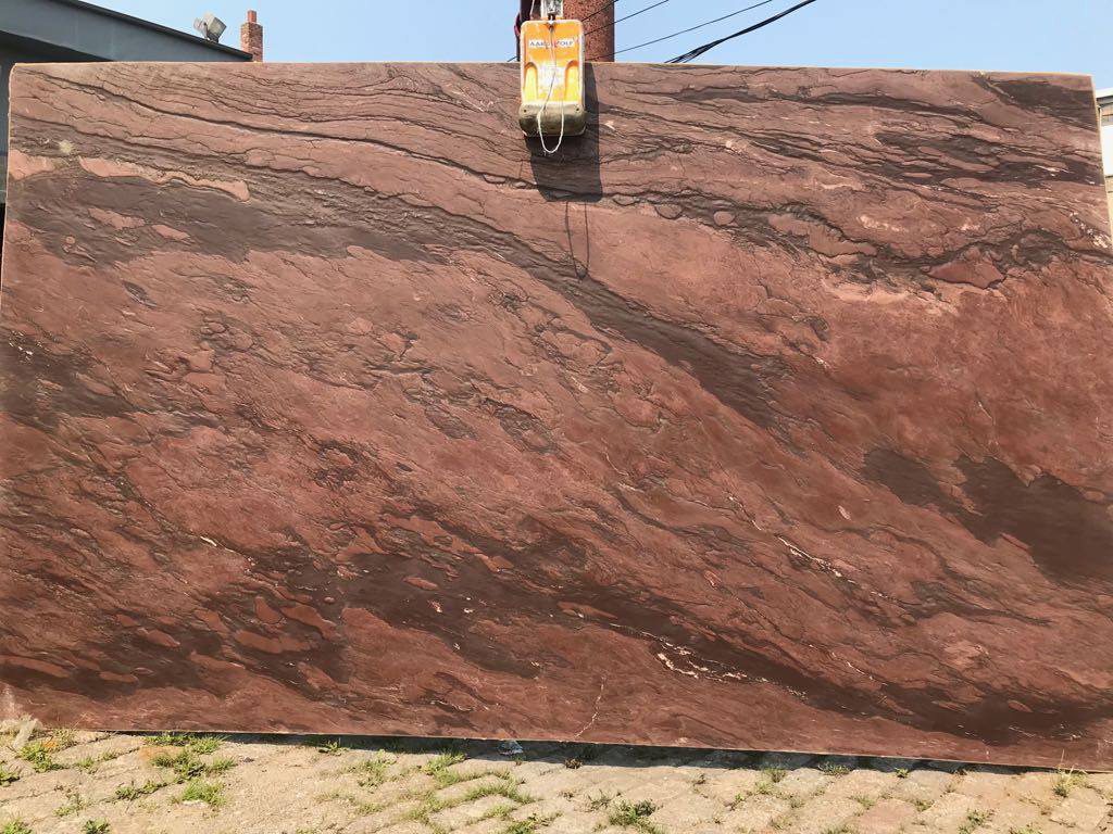 Sereta Leather Granite Red Granite Slabs