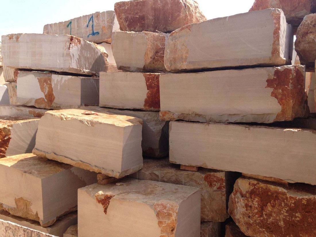 Serpeggiante Beige Marble Blocks Italy Marble Blocks