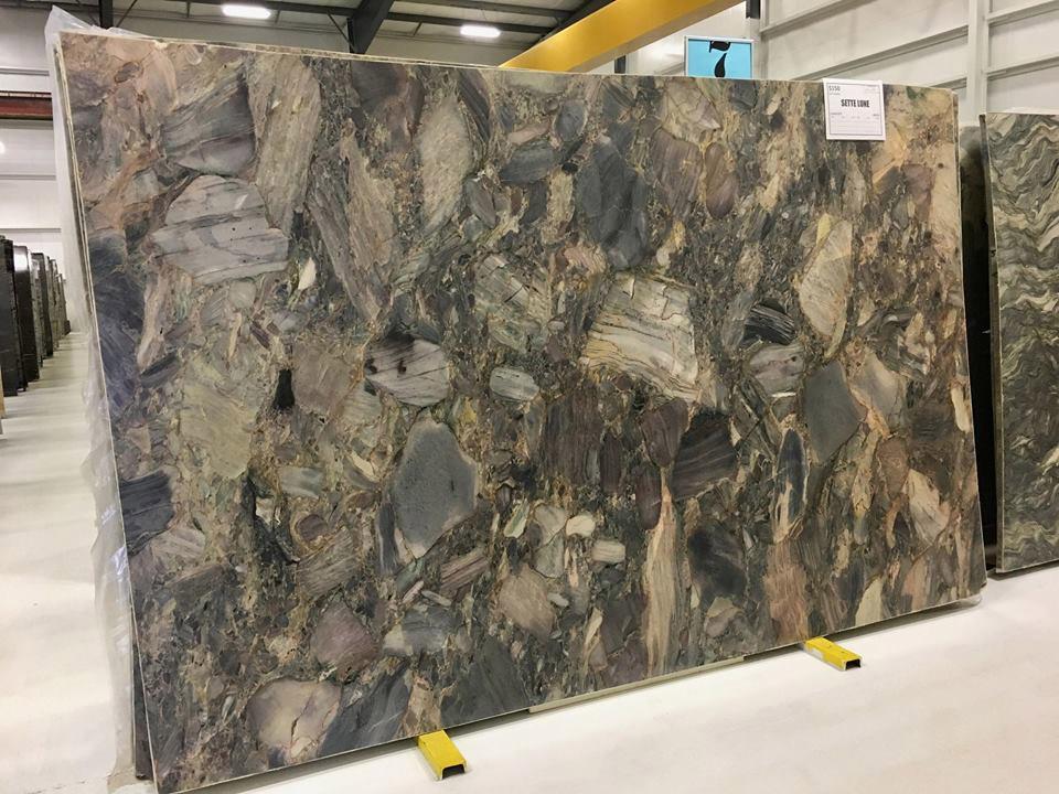 Sette Lune Quartzite Multi Color Quartzite Slabs