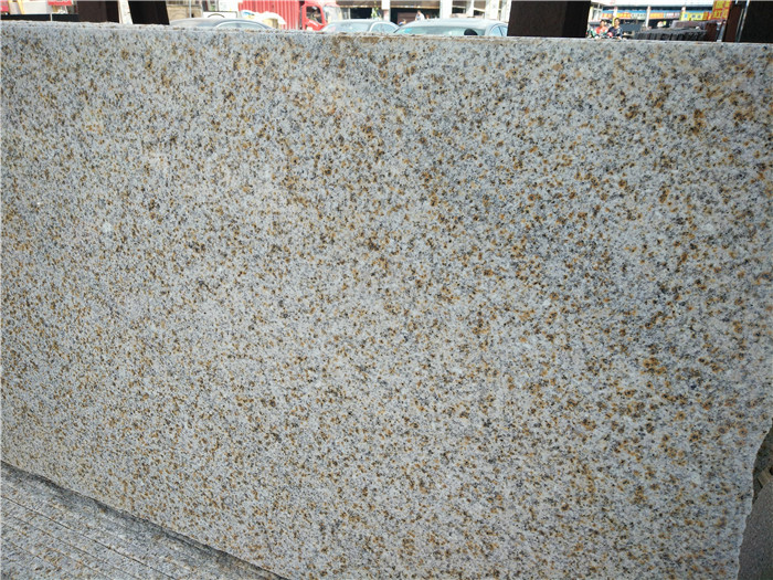 Shandong Rusty Granite Slabs Yellow Chinese Granite