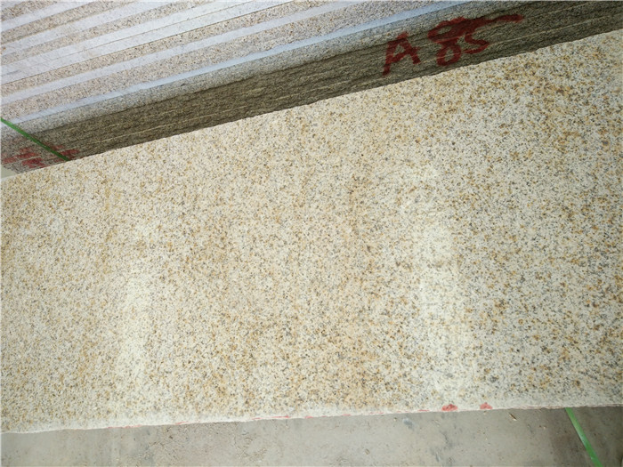 Shandong Rusty Granite Yellow Polished Granite Steps